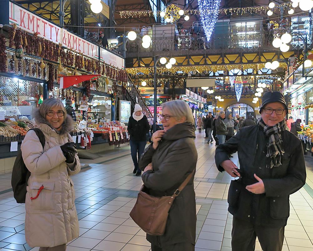 Viatges en grup, mercat de Budapest, Nadal, Viatges Culturals, Mitic Viatges