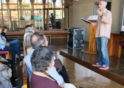 Viatges en grup, Ca´Rezzonico, conferenciant Xavier Chavarria, locutor redactor Catalunya Radio, crític musical, viatge musical, cultura, septembre, Venècia, Mitic Viatges