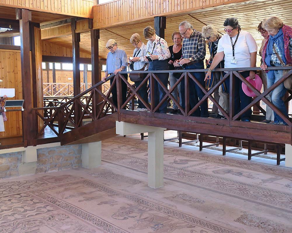 Viatges en grup, visites guiades, Kato Pafos, mosaics, Xipre, Mitic Viatges
