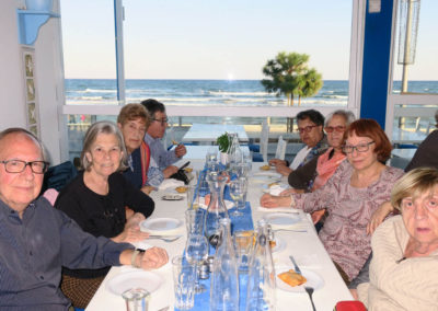 Viatges en grup, Xipre, dinar amb vistes al mar, gastronomia, tot inclòs, Mitic Viatges