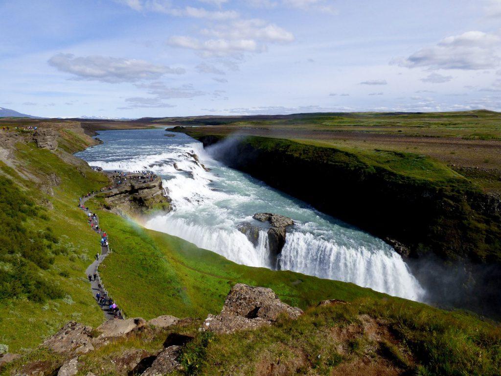 L'espectacular cascada de Gullfoss
