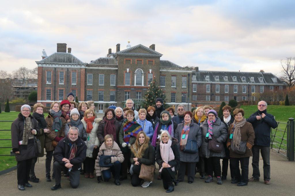 Grup de Mitic Viatges durant el viatge a Londres