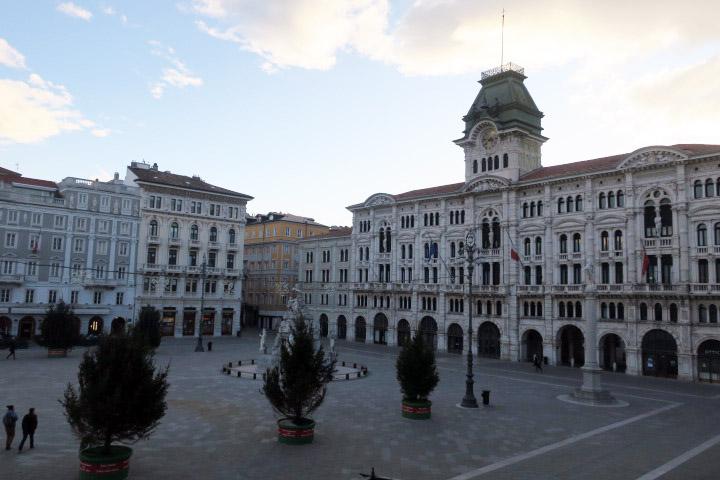 Piazza de l'Unità d'Italia a Trieste
