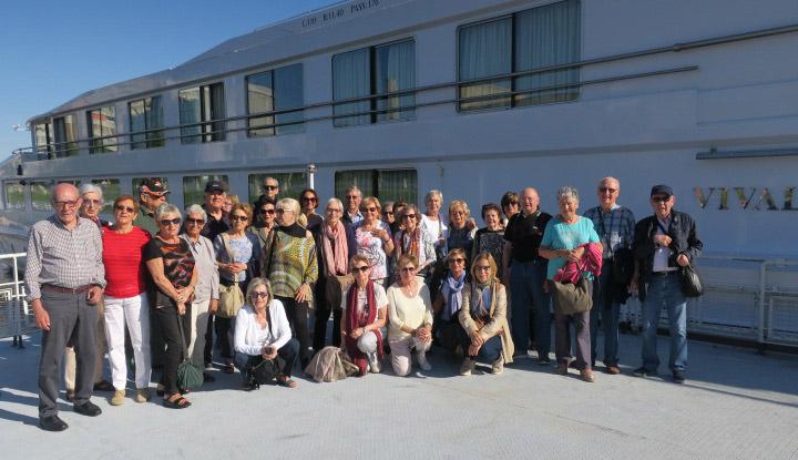 Grup de Mitic Viatges durant el Creuer pel Danubi