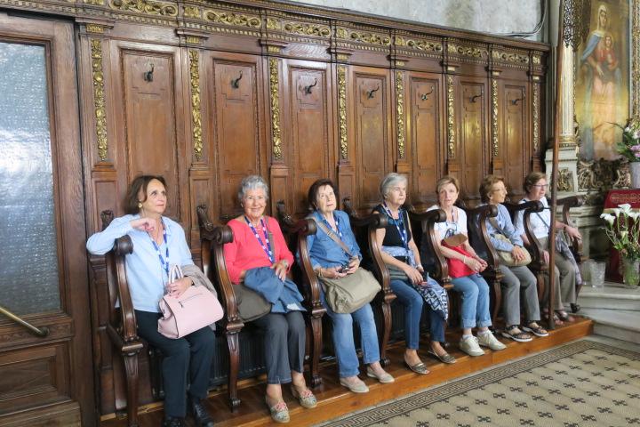 Interior del Palau Episcopal a Novi Sad