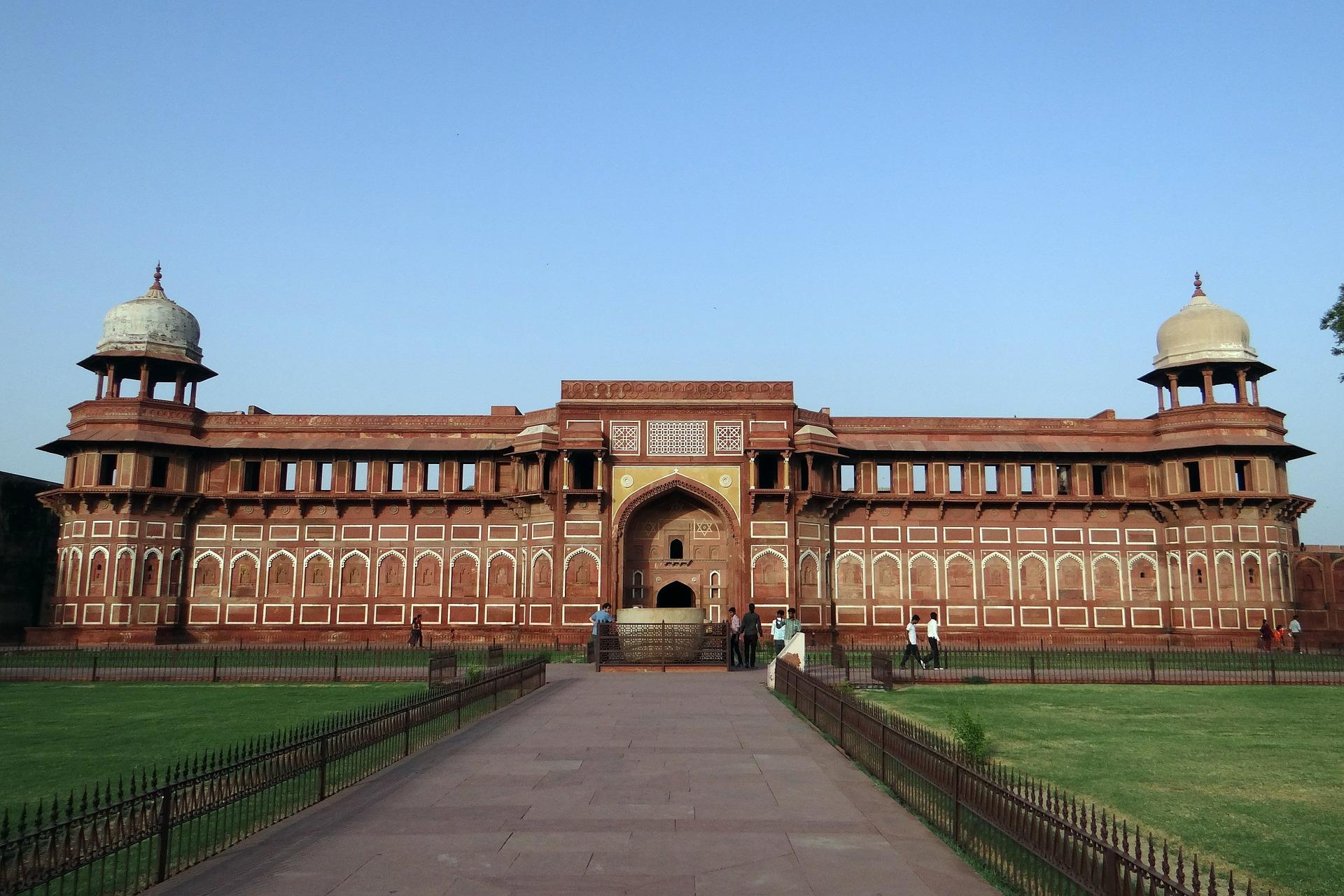 Fortalesa Vermella a Agra