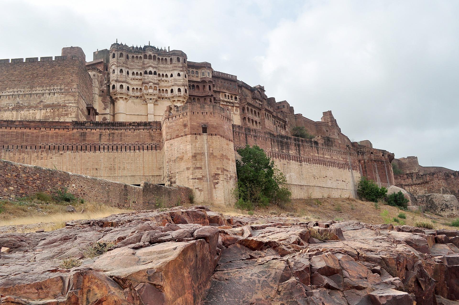 Fortalesa de Mehranghar a Jodhpur