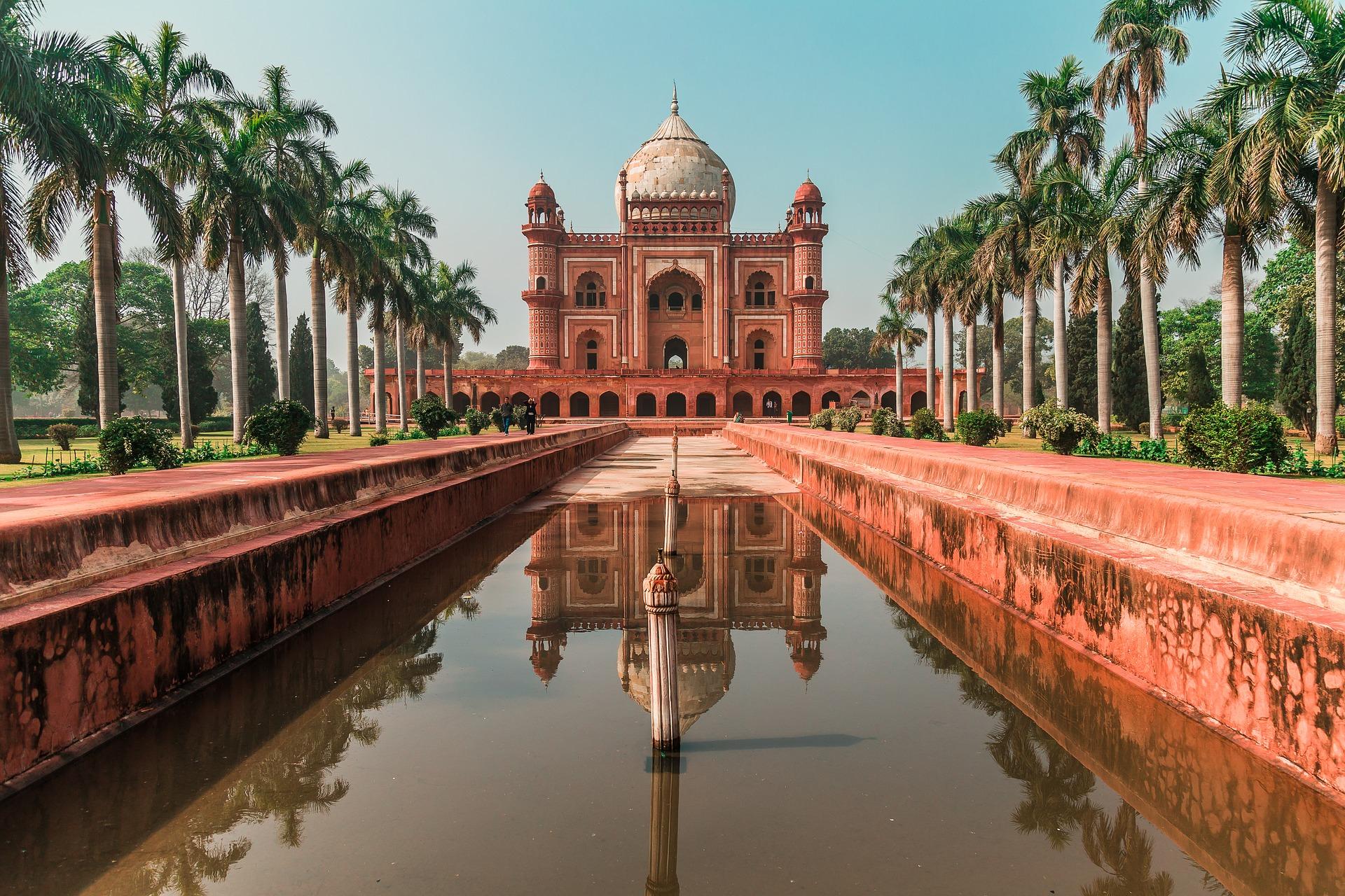 Mausoleu Humayun de Nova Delhi