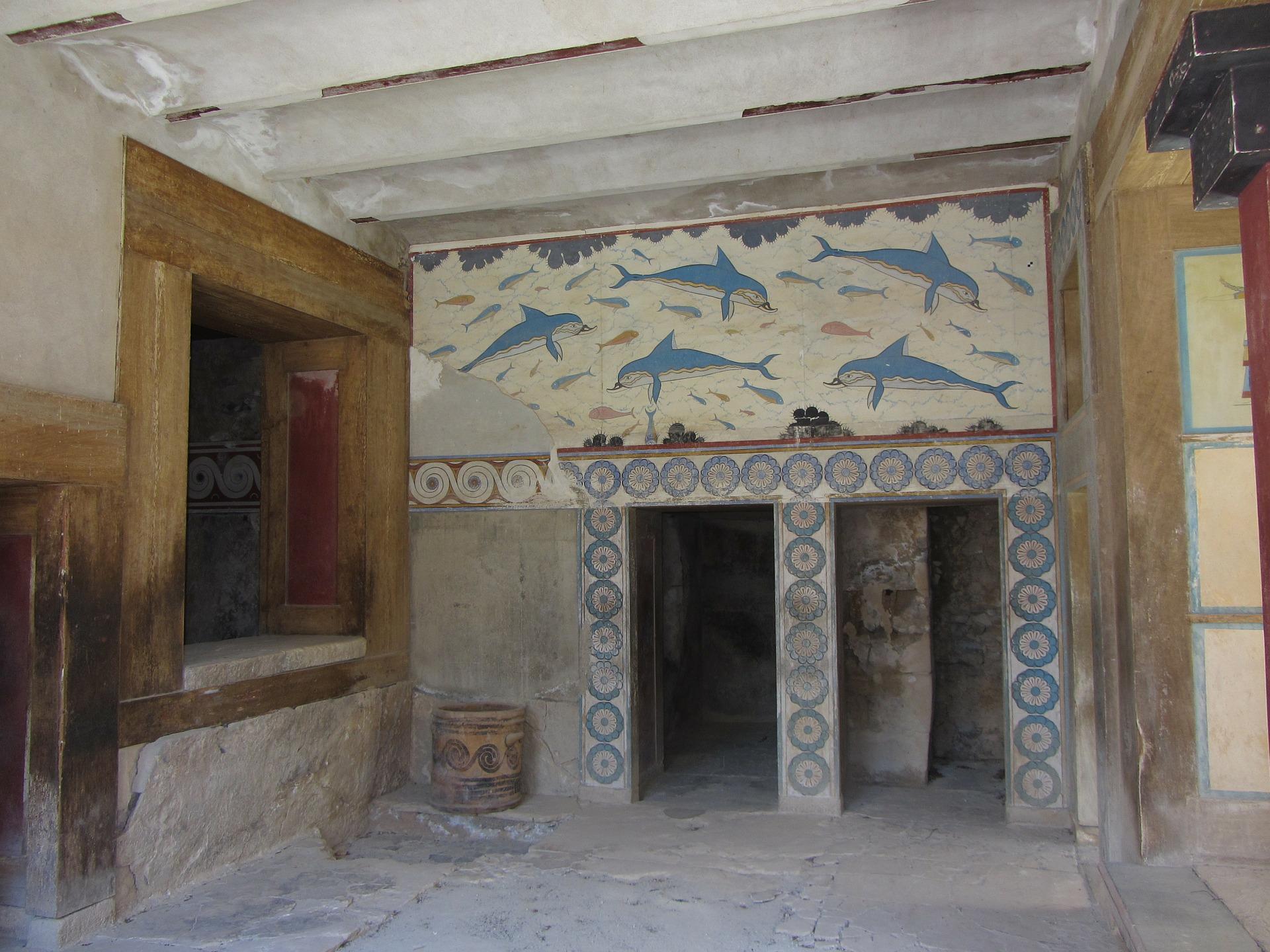 Fresc dels dofins del Palau de Cnossos