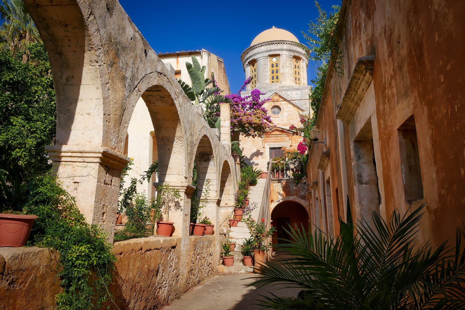 Monestir Agia Triada a Creta
