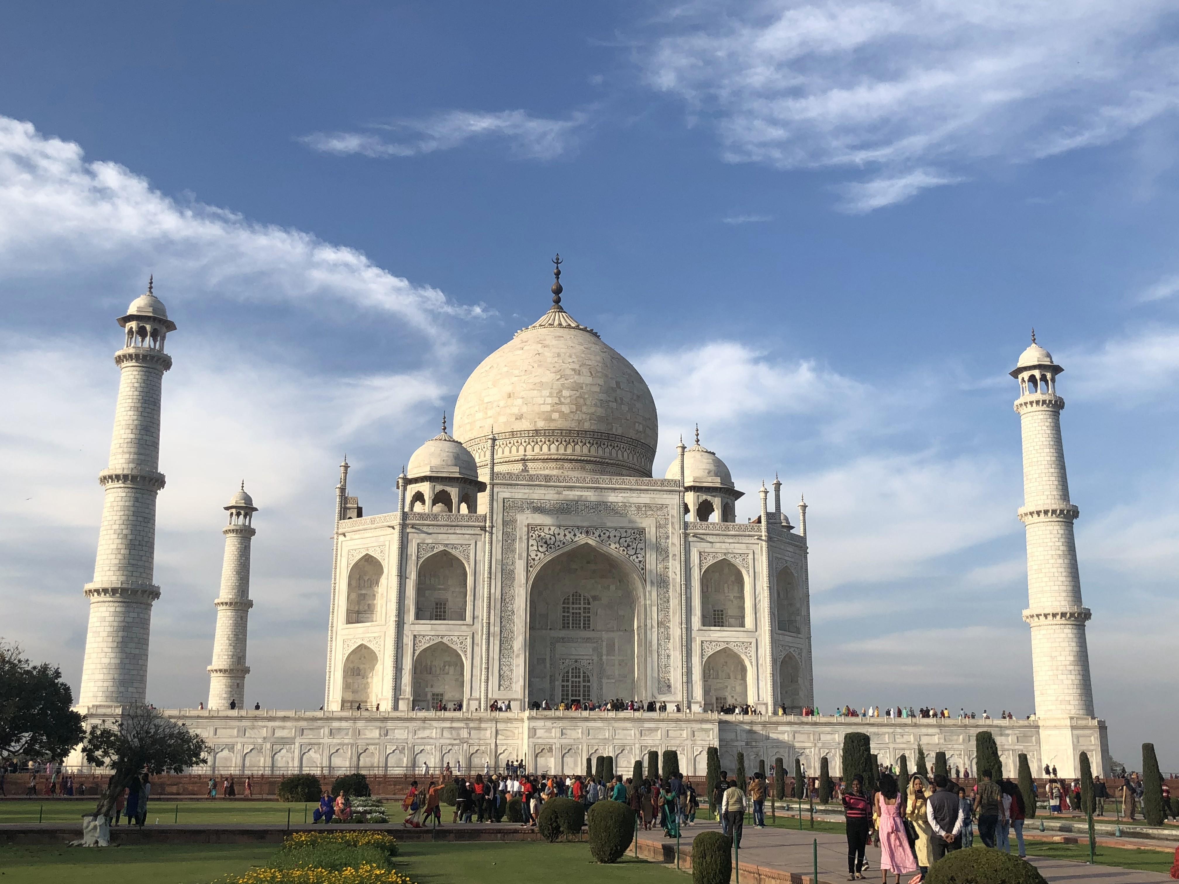 El Taj Mahal a Agra