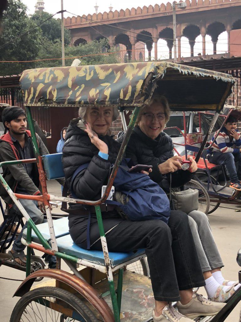 En Rickshaw per Nova Delhi