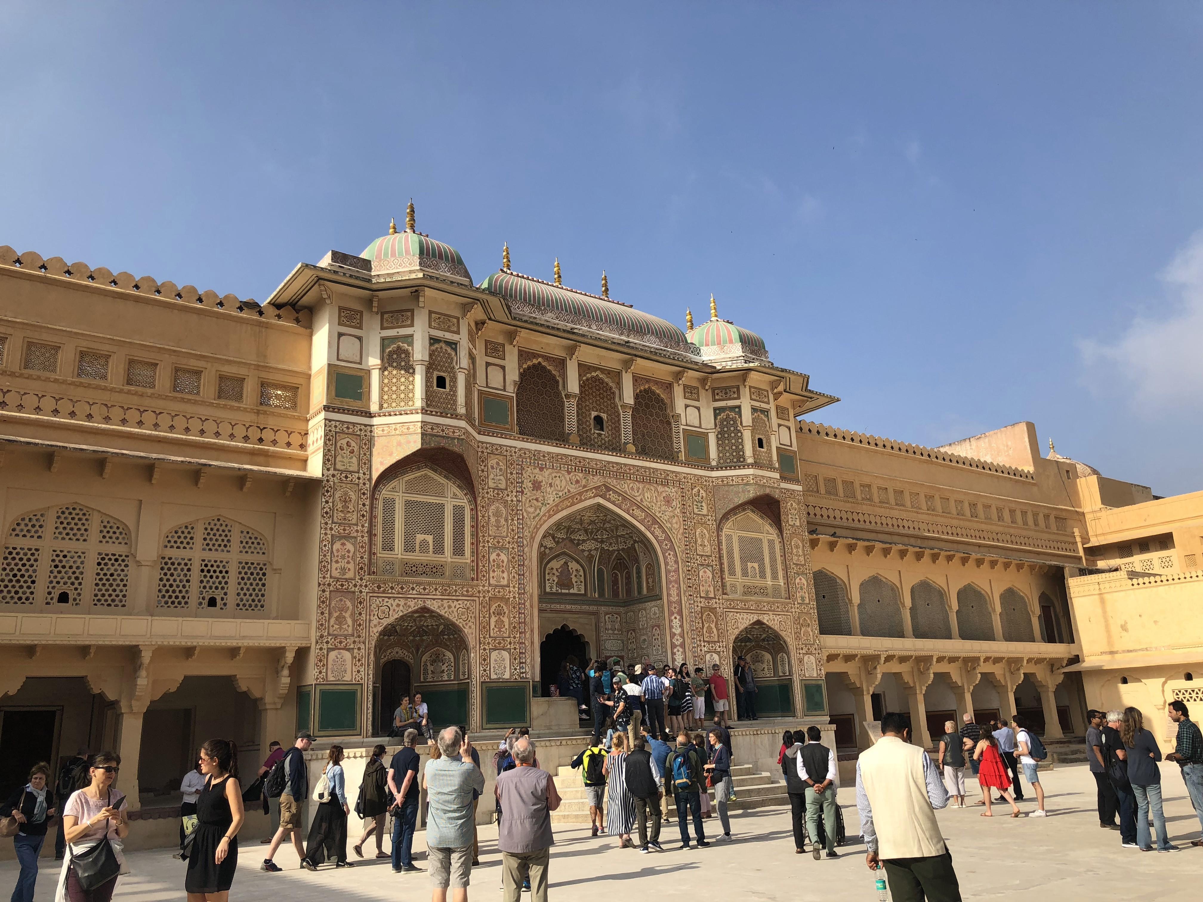 Fortalesa d'Amber a Jaipur