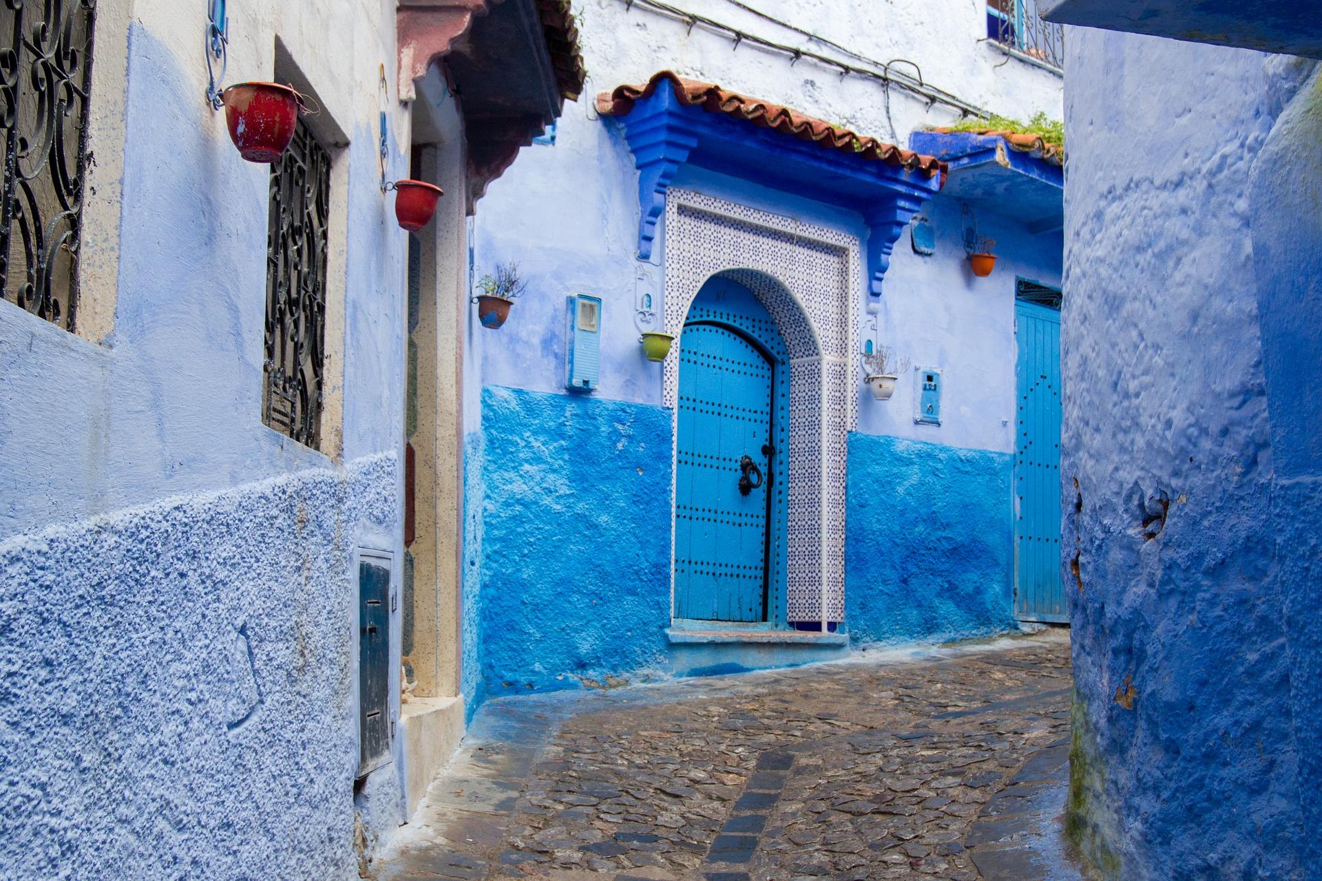 Carrerons de Chefchaouen al Marroc