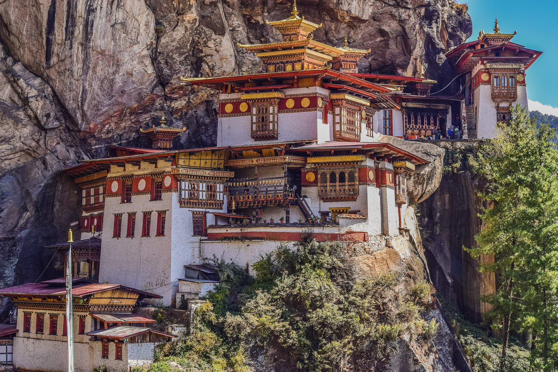 Monestir del Niu del Tigre a Bhutan