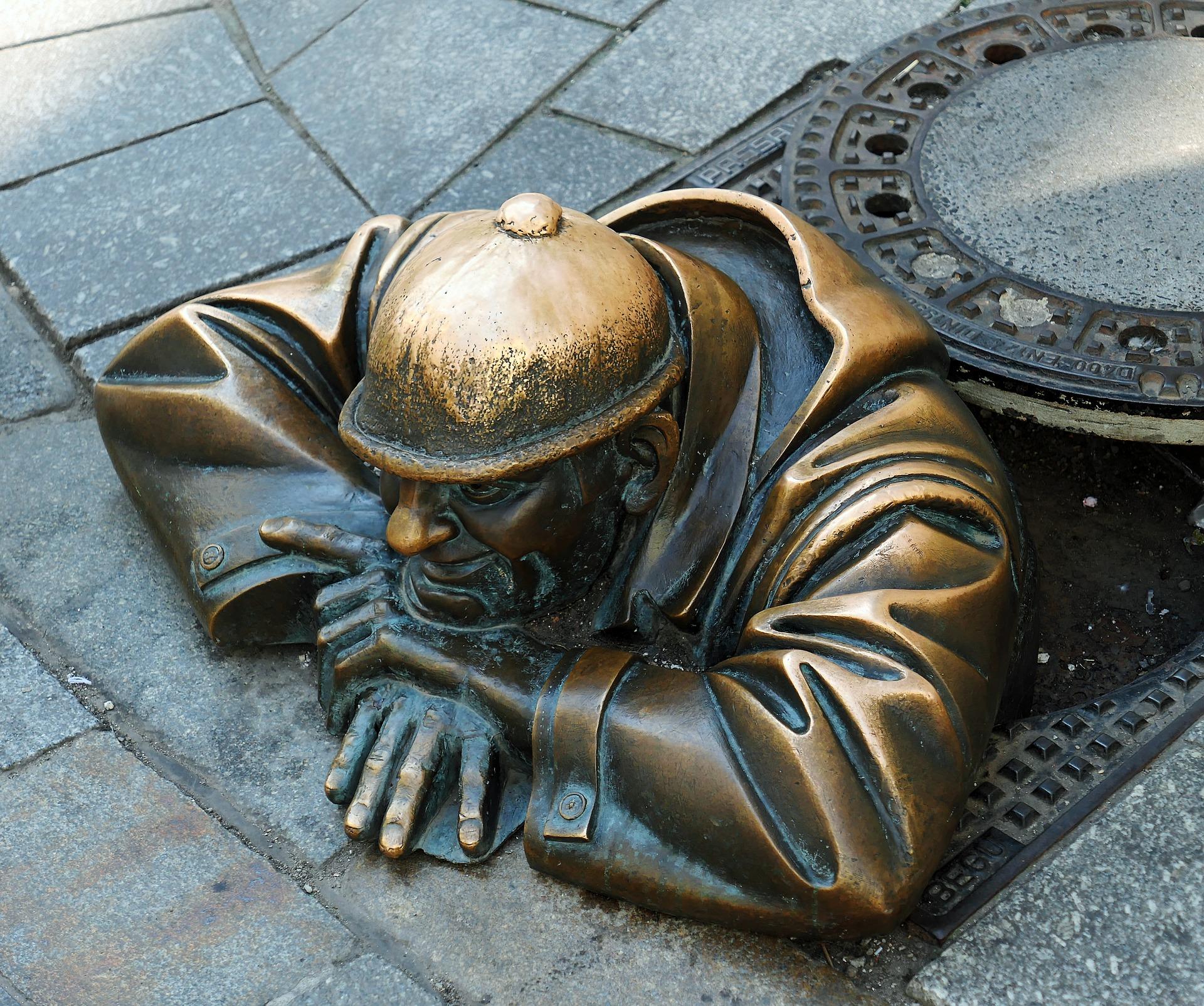 Escultura a Bratislava