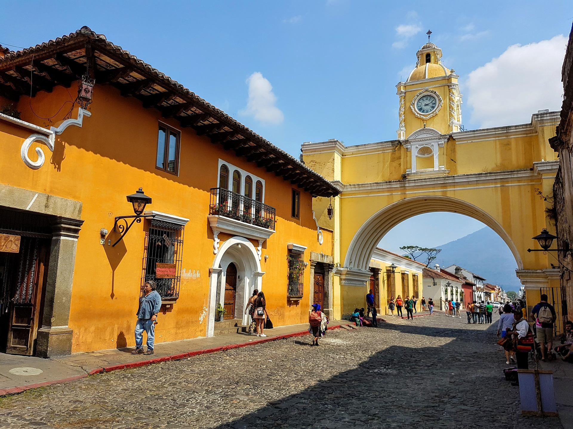 Arc de Santa Catalina a Antigua a Guatemala