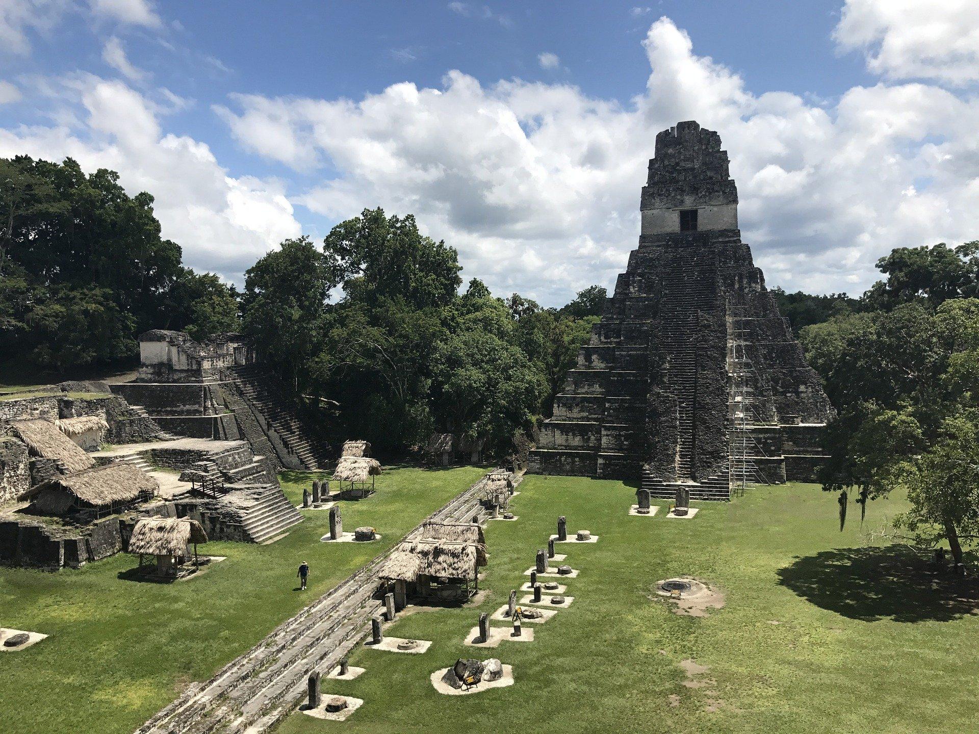 El jaciment de Tikal a Guatemala