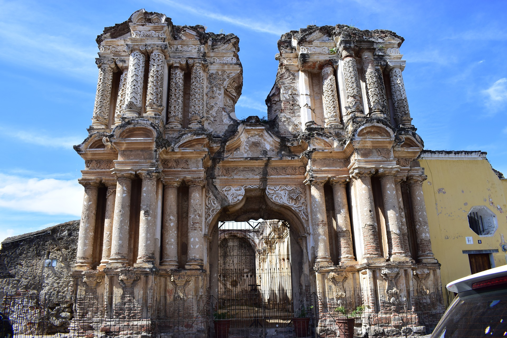 Ruines d'Antigua, Guatemala
